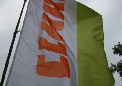 Claas zászló