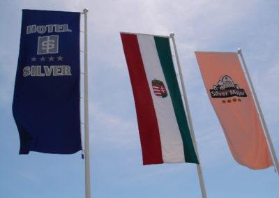 Hotel Silver zászlói