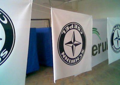 Schwinn Csepel zászló