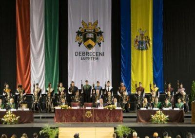 Debreceni egyetem zászlók